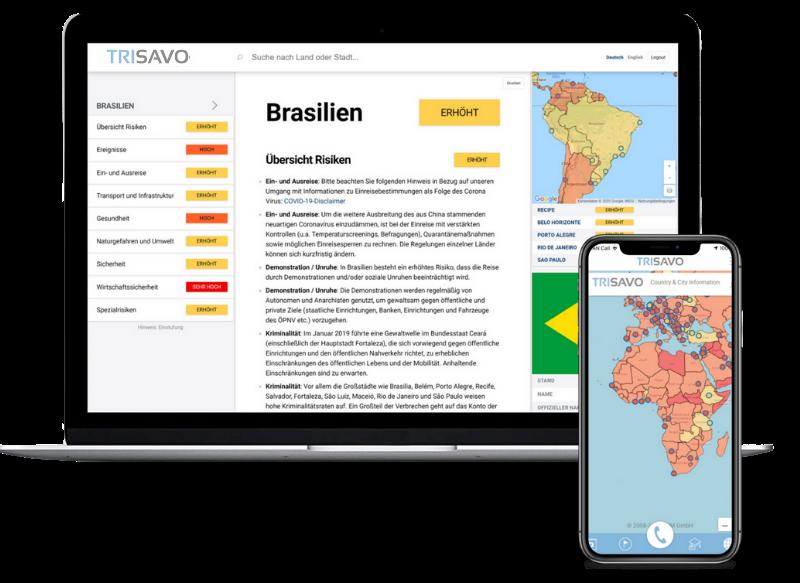 Länderinformation Desktop App